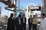 بازدید رئیس سازمان صنعت، معدن و تجارت خوزستان از شرکت کک سبز خرمشهر