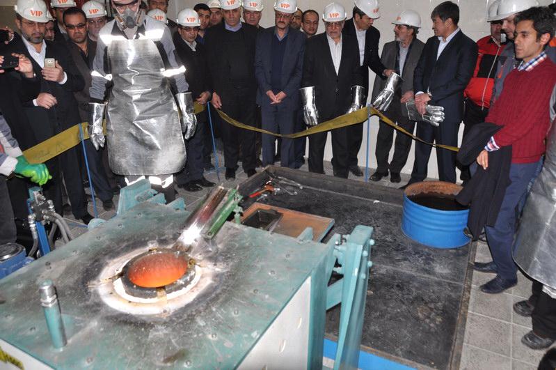 بهره برداری از معدن و کارخانه استحصال شمش طلای ساریگونی قروه